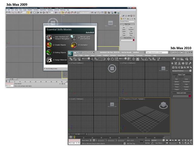 Interfaces 2009 e 2010
