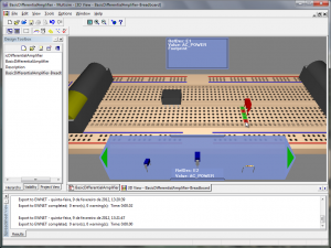 Figura 3 - Protoboard NI ELVIS