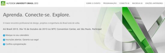 AU BRASIL 2013 - Dia 10 de Outubro