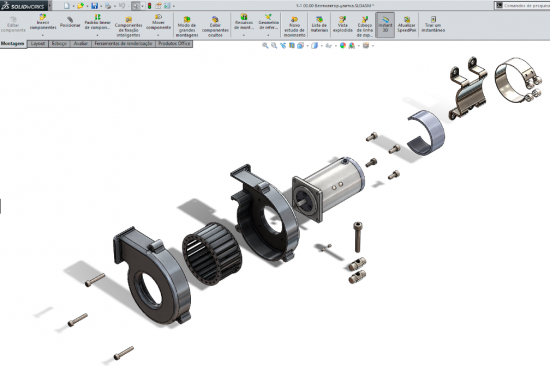 Slideshow SolidWorks 2014 Montagens