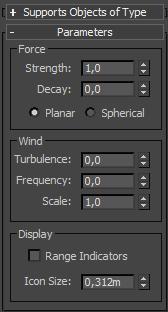 Parâmetros do Wind