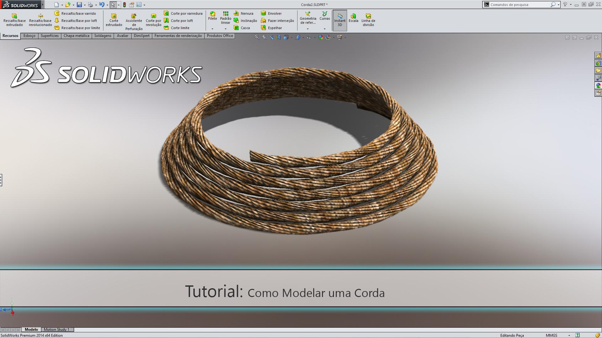 SW14 - Como Modelar uma Corda