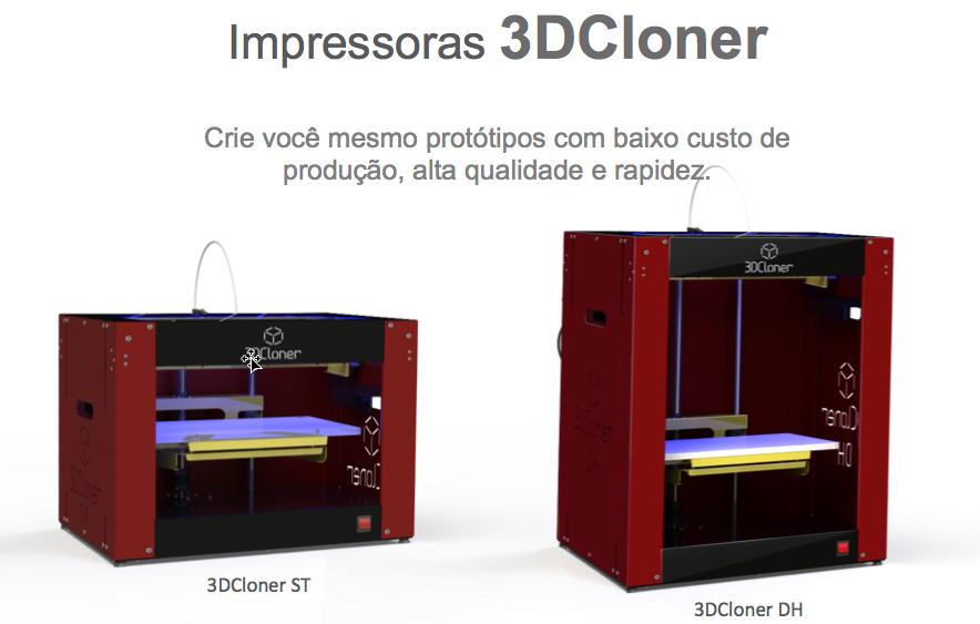 Impressoras 3DCloner