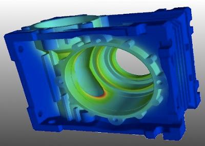Analise termica caixa de redução