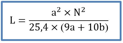 Formula - Indutância