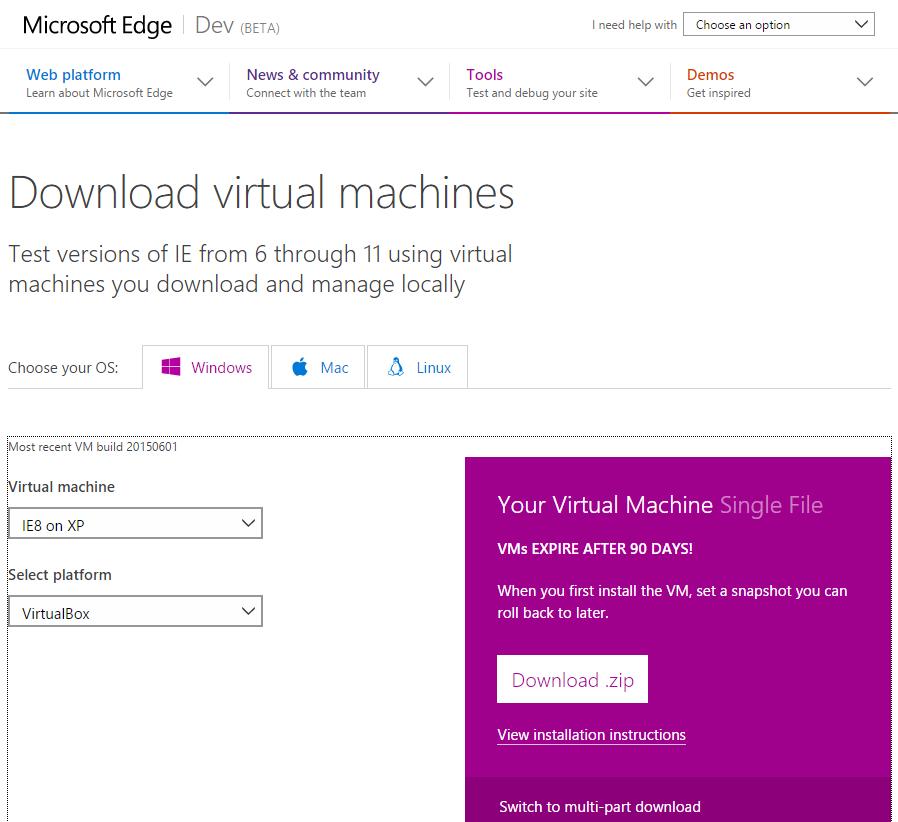 VirtualBox - Encontrar Máquina Virtual