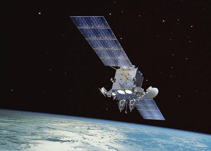 Satélites - satélite de comunicação em alta frequência