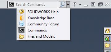 Dicas SolidWorks - Menu Comandos