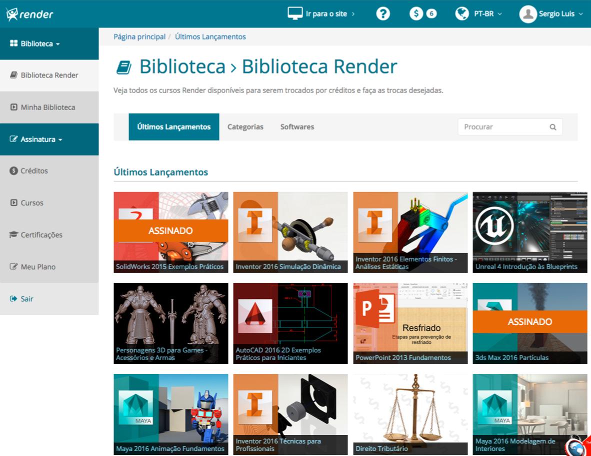 Biblioteca Render  (Campus Render)