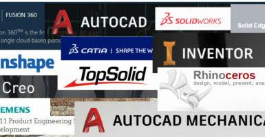 Sofwares CAD para o Projeto Mecânico
