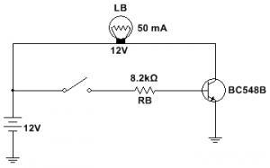 Como Utilizar o Transistor como Chaveador