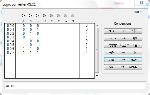 07 - Simplificar Álgebras Booleanas Multisim