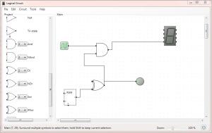 LogicCircuit – Um Software Livre para Circuitos Digitais