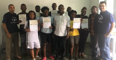 RENDER Cursos certifica a primeira turma em Moçambique