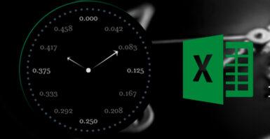 Como as fórmulas de tempo funcionam no Excel