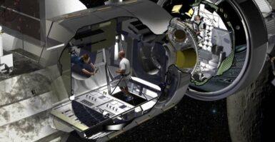 Astronautas poderão viver em missões no espaço profundo