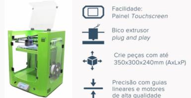 Impressora 3D para seu negócio, 3D Taurus