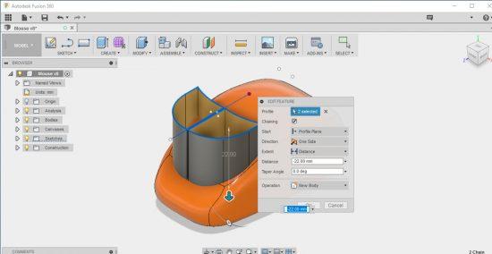Tecnologia Autodesk Inventor Fusion – unindo engenharia e design industrial