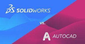 A diferença entre o AutoCAD e o SolidWorks