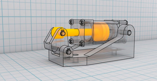 Desenho CAD está sendo plenamente usado