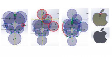 Usando a proporção áurea para desenhar no SolidWorks