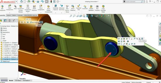 Tutorial SOLIDWORKS: Copiar e posicionar
