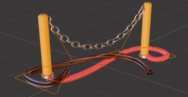 Tutorial Blender: Aprenda a criar uma corrente
