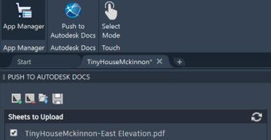 Extensão Autodesk Docs para AutoCAD