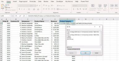 Tutorial EXCEL: Navegue por referências de fórmula com a janela 'IR PARA'
