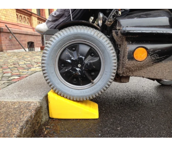 Rampa para cadeira de rodas portátil