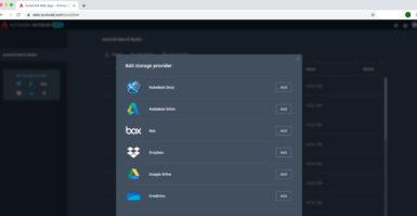 AutoCAD Web App: novo armazenamento em nuvem