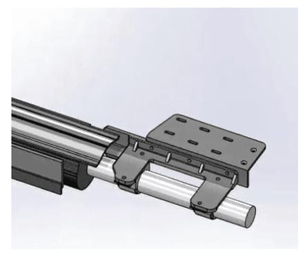 Projeto de montagem desativado em solidworks