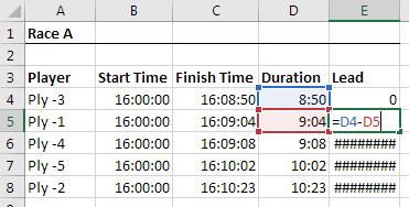 Leads - quantos segundos para ganhar o próximo lugar?