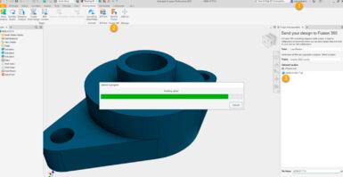 Novidades do Autodesk Inventor 2022: Enviar para Fusion 360