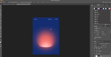 TUTORIAL Photoshop: criando um buraco gradiente