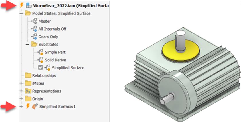 Substitutos da atualização do Autodesk Inventor 2022