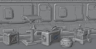Blender: modelos Hard Surface gratuitos