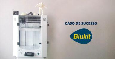 BLUKIT METALÚRGICA OBTÉM 60% DE AUMENTO DA PRODUTIVIDADE COM A IMPRESSORA 3D TAURUS AF3 350