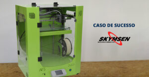 A IMPRESSORA 3D TAURUS AF3 350 FAZ PARTE DO PROCESSO DE INOVAÇÃO TECNOLÓGICA DA SKYMSEN