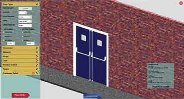Configuração de porta 3D